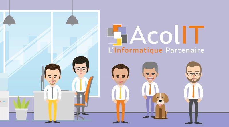 équipe AcolIT, experts informatiques